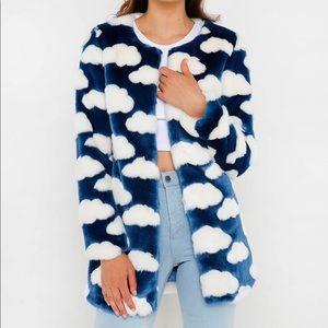 Cloud 9 Coat faux fur coat